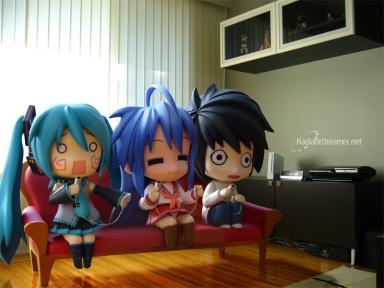 Nendoroid gamers!
